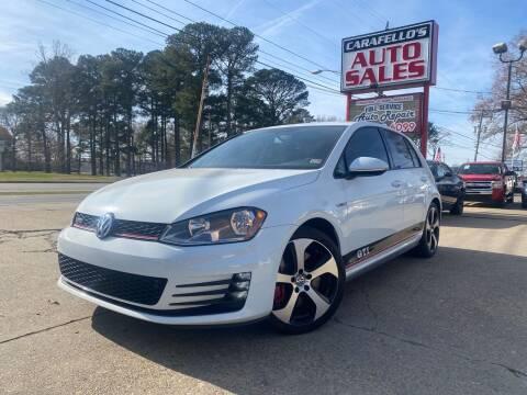 2015 Volkswagen Golf GTI for sale at Carafello's Auto Sales in Norfolk VA