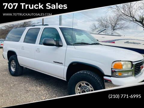 2003 GMC Yukon XL for sale at 707 Truck Sales in San Antonio TX