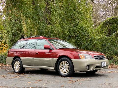 2003 Subaru Outback for sale at Trucks Plus in Seattle WA