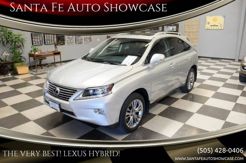 2013 Lexus RX 450h for sale at Santa Fe Auto Showcase in Santa Fe NM
