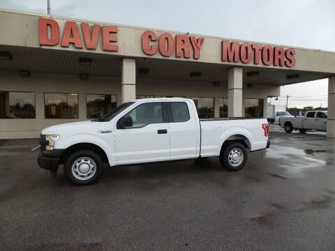 2017 Ford F-150 for sale at DAVE CORY MOTORS in Houston TX
