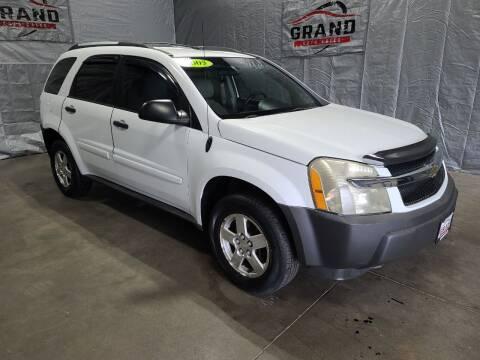 2005 Chevrolet Equinox for sale at GRAND AUTO SALES in Grand Island NE