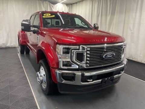 2021 Ford F-450 Super Duty for sale at Monster Motors in Michigan Center MI