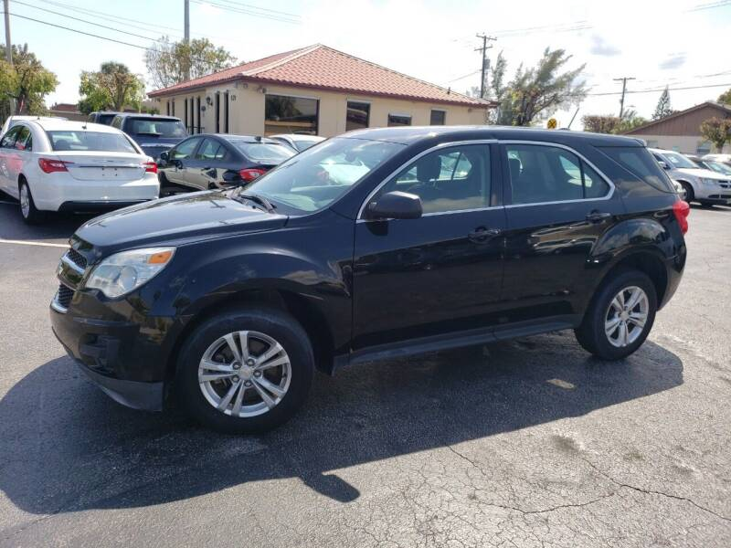 2015 Chevrolet Equinox for sale at KK Car Co Inc in Lake Worth FL