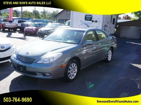 2002 Lexus ES 300 for sale at Steve & Sons Auto Sales in Happy Valley OR