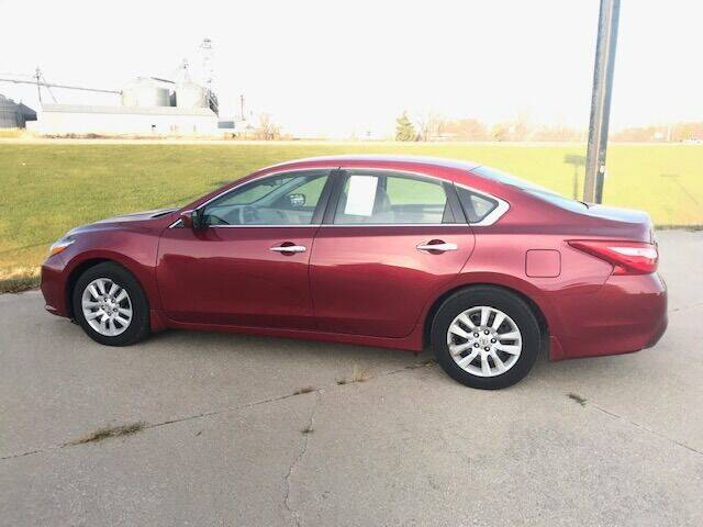 2017 Nissan Altima for sale at Lannys Autos in Winterset IA