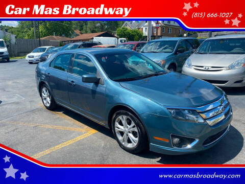2012 Ford Fusion for sale at Car Mas Broadway in Crest Hill IL