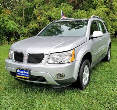 2006 Pontiac Torrent for sale at Chicagoland Internet Auto - 410 N Vine St New Lenox IL, 60451 in New Lenox IL