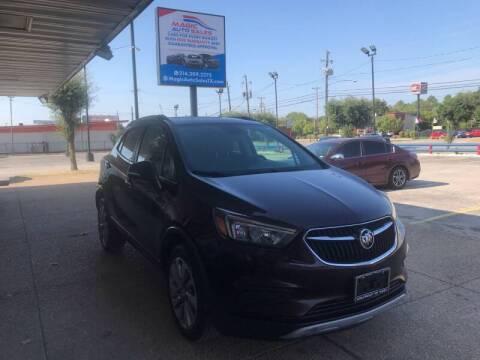 2017 Buick Encore for sale at Magic Auto Sales in Dallas TX