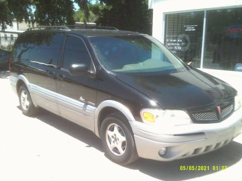 2001 Pontiac Montana for sale at ROYAL MOTOR SALES LLC in Dover FL