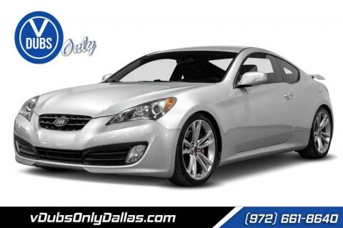2012 Hyundai Genesis Coupe for sale at VDUBS ONLY in Dallas TX