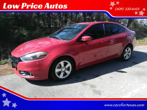 2014 Dodge Dart for sale at Low Price Autos in Beaumont TX