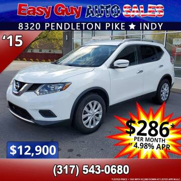 2015 Nissan Rogue for sale at Easy Guy Auto Sales in Indianapolis IN