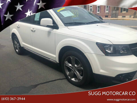 2016 Dodge Journey for sale at Sugg Motorcar Co in Boyertown PA