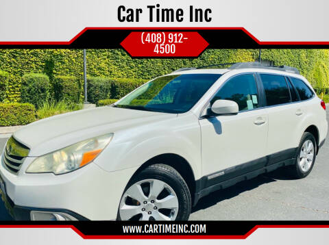 2010 Subaru Outback for sale at Car Time Inc in San Jose CA