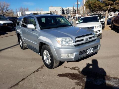 2003 Toyota 4Runner for sale at BERKENKOTTER MOTORS in Brighton CO