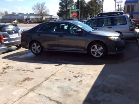2013 Toyota Camry for sale at Auto Brokers in Sheridan CO