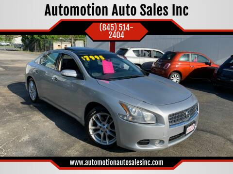 2011 Nissan Maxima for sale at Automotion Auto Sales Inc in Kingston NY