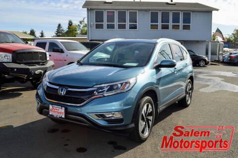2016 Honda CR-V for sale at Salem Motorsports in Salem OR