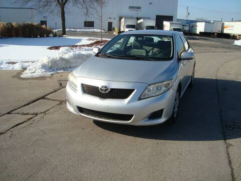 2009 Toyota Corolla for sale at ARIANA MOTORS INC in Addison IL