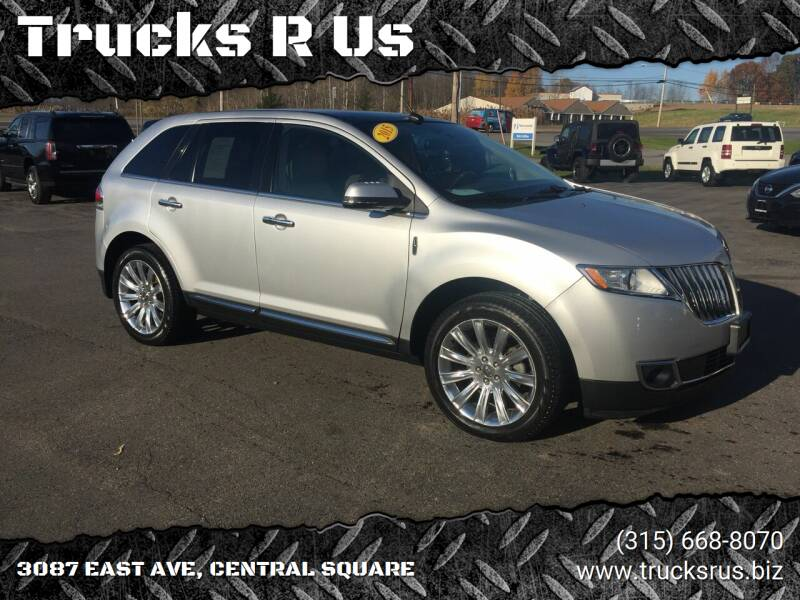 2015 Lincoln MKX for sale at Trucks R Us in Central Square NY
