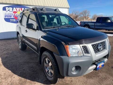 2012 Nissan Xterra for sale at Praylea's Auto Sales in Peyton CO