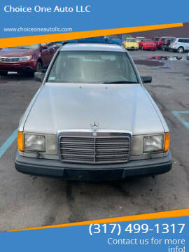1987 Mercedes-Benz 300-Class for sale at Choice One Auto LLC in Beech Grove IN