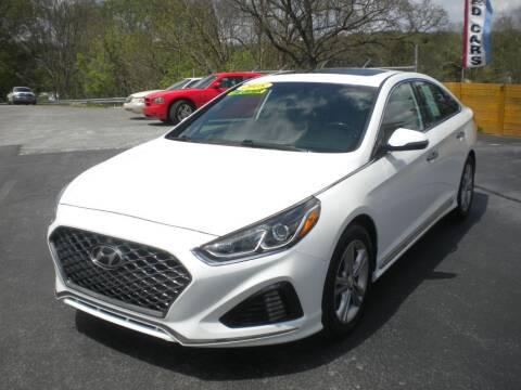 2018 Hyundai Sonata for sale at Houser & Son Auto Sales in Blountville TN