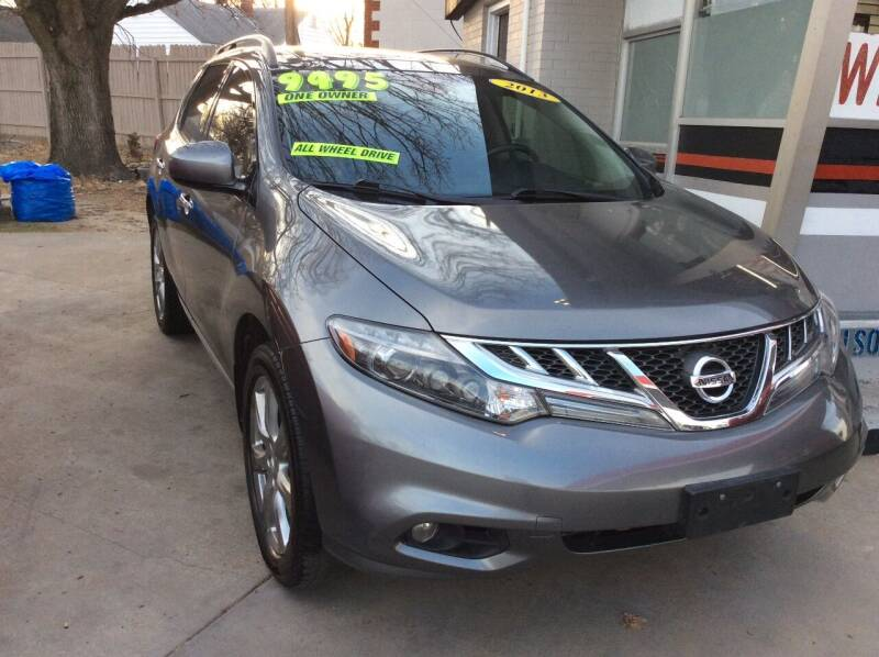 2013 Nissan Murano for sale at Harrison Family Motors in Topeka KS