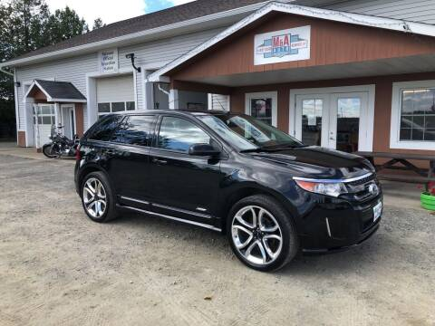 2013 Ford Edge for sale at M&A Auto in Newport VT