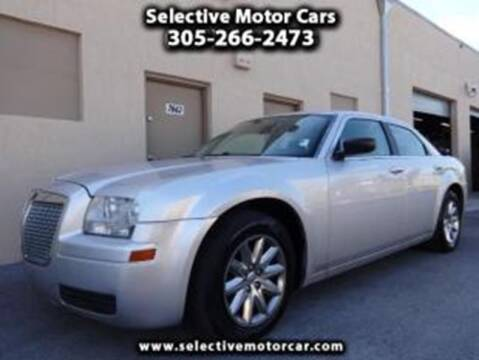 2008 Chrysler 300 for sale at Selective Motor Cars in Miami FL