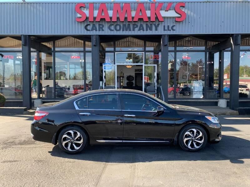 2016 Honda Accord for sale at Siamak's Car Company llc in Salem OR