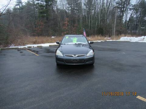 2006 Honda Accord for sale at Heritage Truck and Auto Inc. in Londonderry NH