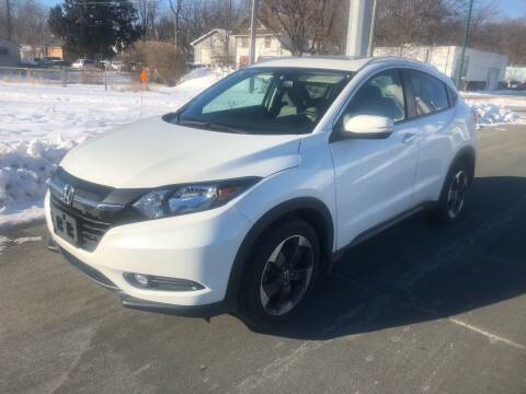 2018 Honda HR-V for sale at ONG Auto in Farmington MN