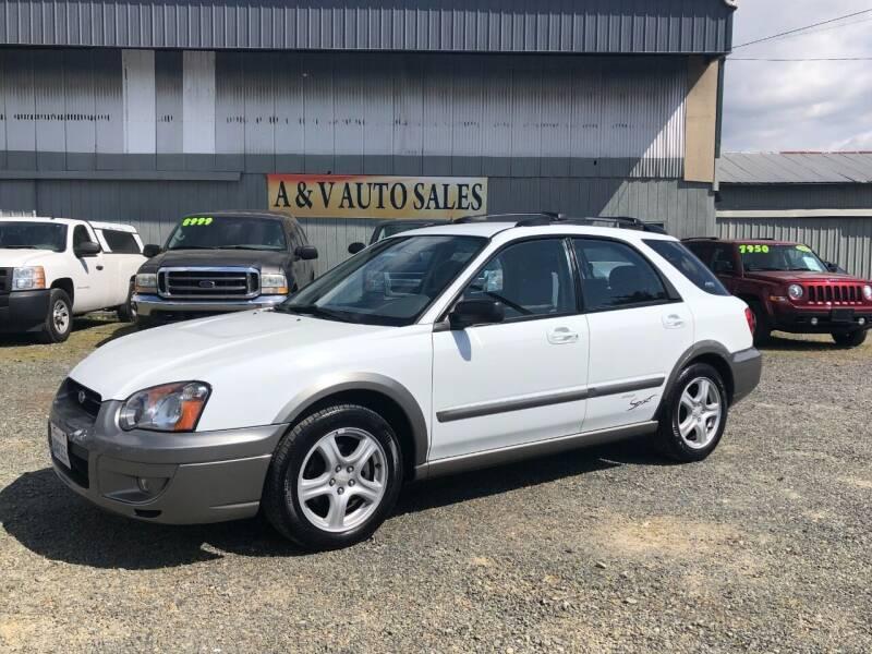 2004 Subaru Impreza for sale at A & V AUTO SALES LLC in Marysville WA