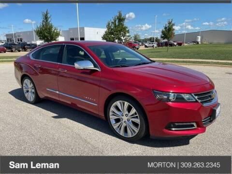 2015 Chevrolet Impala for sale at Sam Leman CDJRF Morton in Morton IL