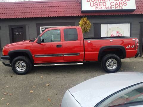 2007 Chevrolet Silverado 2500HD Classic for sale at Bonney Lake Used Cars in Puyallup WA