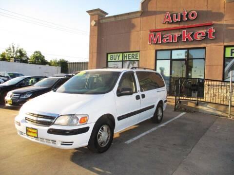 2005 Chevrolet Venture for sale at Auto Market in Oklahoma City OK