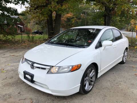 2008 Honda Civic for sale at Royal Crest Motors in Haverhill MA