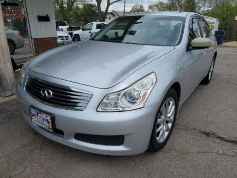 2009 Infiniti G37 Sedan for sale at New Wheels in Glendale Heights IL