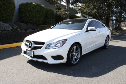 2014 Mercedes-Benz E-Class for sale at SS MOTORS LLC in Edmonds WA