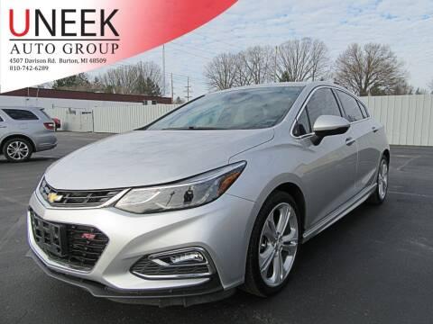 2017 Chevrolet Cruze for sale at Uneek Auto Group LLC in Burton MI
