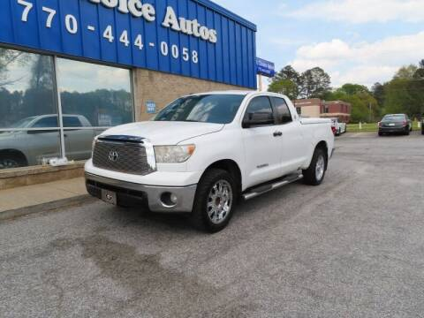 2012 Toyota Tundra for sale at 1st Choice Autos in Smyrna GA