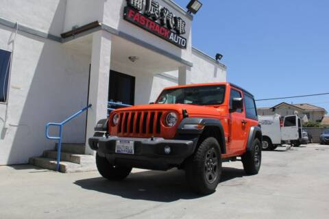 2018 Jeep Wrangler for sale at Fastrack Auto Inc in Rosemead CA