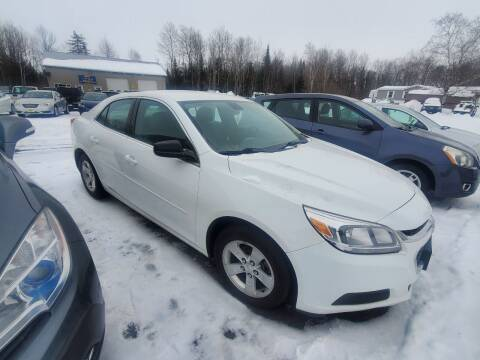 2014 Chevrolet Malibu for sale at Jeff's Sales & Service in Presque Isle ME