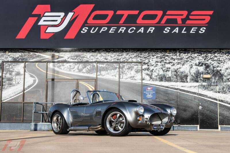 1965 Shelby Cobra MKIII for sale at BJ Motors in Tomball TX