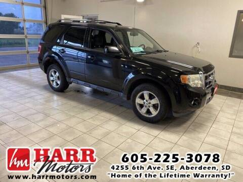 2009 Ford Escape for sale at Harr's Redfield Ford in Redfield SD