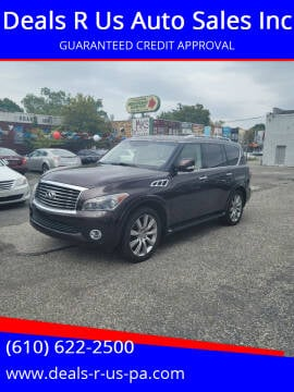 2012 Infiniti QX56 for sale at Deals R Us Auto Sales Inc in Lansdowne PA