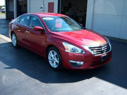 2013 Nissan Altima for sale at Blatners Auto Inc in North Tonawanda NY