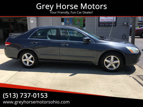 2004 Honda Accord for sale at Grey Horse Motors in Hamilton OH